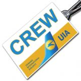 Ukraine International Crew Tag
